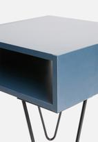 Sixth Floor - Penn bedside table - blue