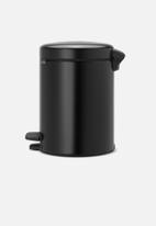 Brabantia - 5 L Pedal bin newicon - matte black