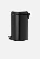 Brabantia - 20 L Pedal bin newicon- matte black