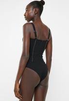 Sissy Boy - Electric bodysuit - black