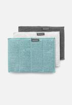 Brabantia - Microfiber cleaning pads set of 3 - multi