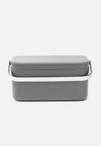 Brabantia - Food waste caddy - dark grey