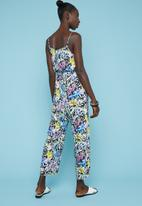 Superbalist - Printed strappy jumpsuit - multi