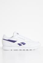 Reebok Classic - Classic leather - white & midnight ink