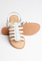 Vero Moda - Rie leather sandal - grey