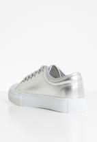 Vero Moda - Flatform sneaker - silver