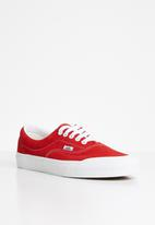 Vans - Era tc - (suede)  racing red/true white