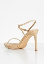 Madison® - Bexley ankle strap heel - neutral