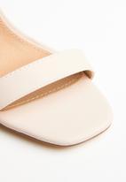 Madison® - Desiree ankle strap stiletto - neutral