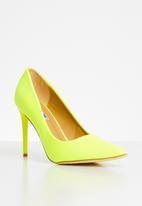 Madison® - Christina stiletto court - neon yellow