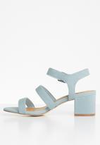 Madison® - Daphne ankle strap heel - blue