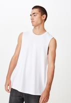 Cotton On - Essential muscle tank - white