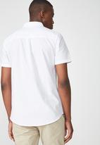 Cotton On - Vintage prep shirt - white