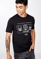 Cotton On - Tbar collab short sleeve Star Wars tee - black