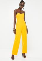 Sissy Boy - Perfectly posh jumpsuit - yellow