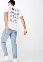 Cotton On - Tbar collab short sleeve Star Wars tee - white