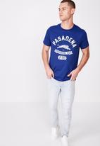 Cotton On - Tbar sport short sleeve tee - blue