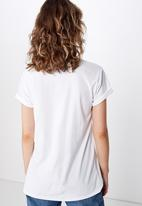 Cotton On - Classic slogan T-shirt like nobody else - white