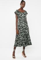 AMANDA LAIRD CHERRY - Alessa dress - olive