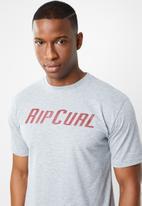 Rip Curl - Trucker short sleeve tee - grey
