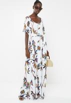 AMANDA LAIRD CHERRY - Thulisile dress - white