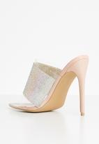 Superbalist - Fergi diamante heels - neutral