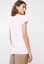 edit - 2 pack round neck tees - pink & grey