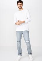 Cotton On - Tapered leg jeans - blue