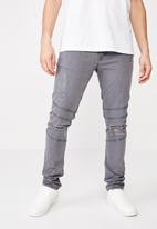Cotton On - Super skinny jeans - grey