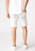 Cotton On - Straight leg shorts - blue