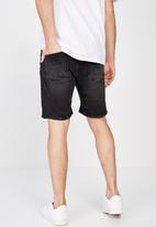 Cotton On - Straight leg shorts - black