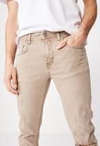 Cotton On - Slim fit jeans - brown