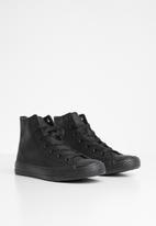 SOVIET - Tweens y viper hi-top sneaker - black