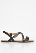 Call It Spring - Chorisia strappy sandal - black