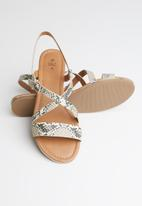 Call It Spring - Chorisia sandal - medium beige