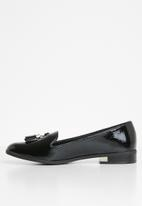 Call It Spring - Faux leather loafer - black