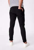 Cotton On - Stretch skinny fit chinos - black