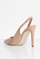 Call It Spring - Faux leather stiletto heel - pink