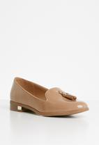 Call It Spring - Faux leather loafer - pink