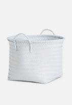 Sixth Floor - Plastic basket large - grey