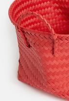 Sixth Floor - Plastic basket large - coral