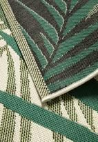 Sixth Floor - Borneo woven outdoor rug - green