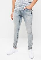 S.P.C.C. - Trench steel slim fit jeans - blue