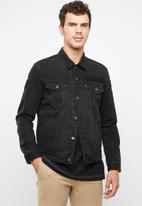 Levi's® - The trucker jacket corporal trucker - black