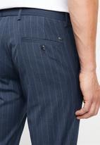 MANGO - Bologna trousers - navy pinstripe