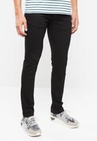 Lee  - Detroit regular slim fit stretch jeans - black
