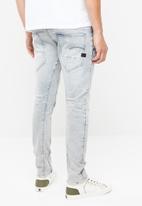 G-Star RAW - D-staq 3d slim wess  superstretch jeans - grey