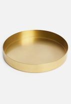 Sixth Floor - Sofia tray - gold