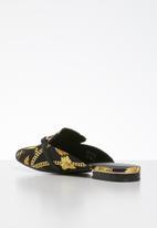 Call It Spring - Dacotaa mule - black/gold multi
