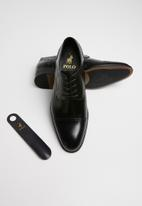 POLO - Derek lace-up formal shoe - black
